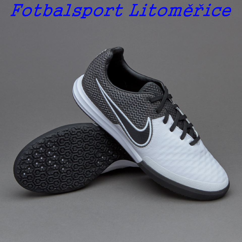 9891af3b8b5 Sálovky Nike Magistax Pro IC bílá černá