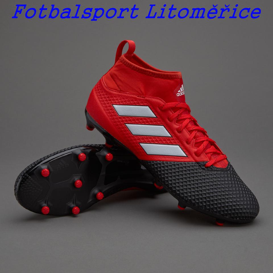 2ec91746d7a Kopačky adidas ACE 17.3 Primemesh FG černá červená