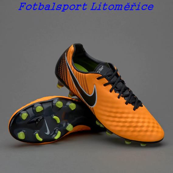 9031215dd Kopačky Nike Magista Opus II FG oranžová/černá | Litosport Litoměřice