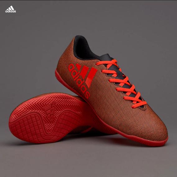 Sálovky adidas X 17.4 IN červená černá a932d503db