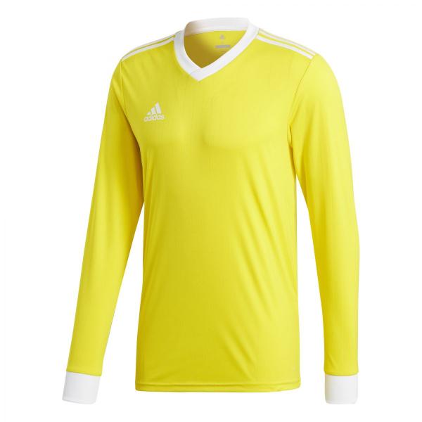 Dětský dres adidas Tabela 18 Jersey dlouhý rukáv žlutá  46078860033