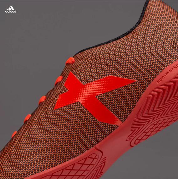 Dětské sálovky adidas X 17.4 IN J červená černá 947e53ea16