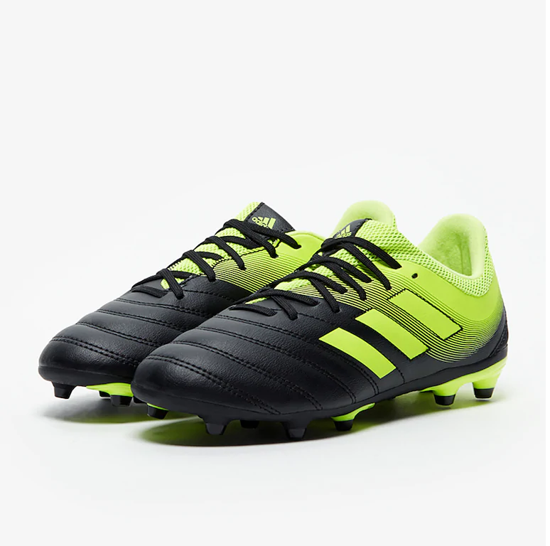e6977b3aa Dětské kopačky adidas Copa 19.3 FG Junior černá/fluo žlutá ...