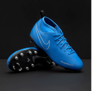 a79e5a360 Dětské kopačky Nike Phantom VSN Club DF FG/MG Junior modrá