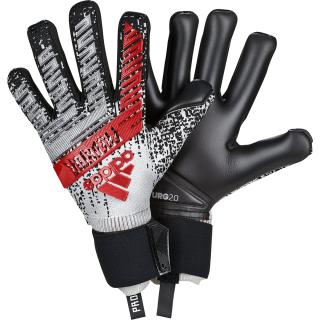a75b93127 Brankařské rukavice adidas Predator Pro šedá/černá